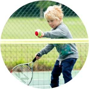 free tennis for kids