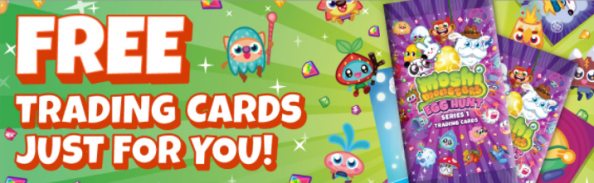 moshi trading cards